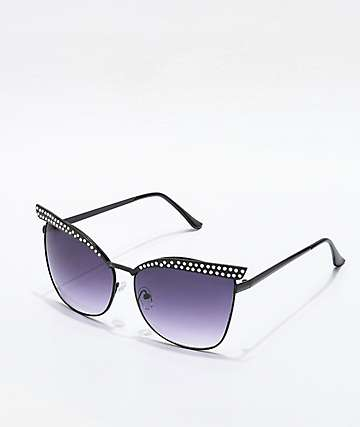 Aim Black and Smoke Sunglasses