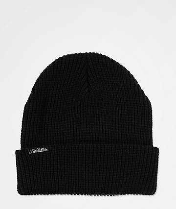 Airblaster Commodity Black Beanie