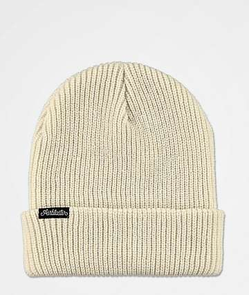Airblaster Commodity Bone White Beanie