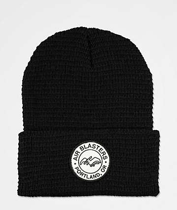 Airblaster Team Black Beanie