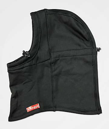 Airhole Airhood Black Balaclava