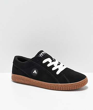 Airwalk The One Black & Gum Skate Shoes