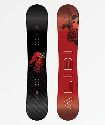 Alibi Motive Snowboard 2020 - Graphic Blem