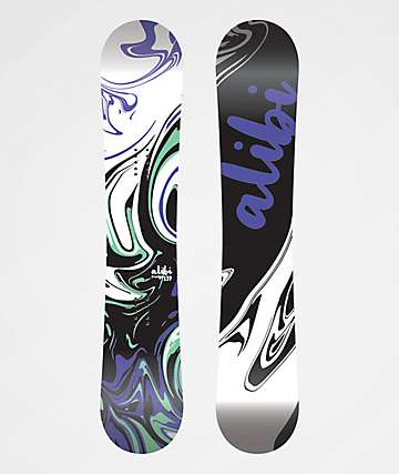 Alibi Muse Snowboard Women's 2020 - Graphic Blem