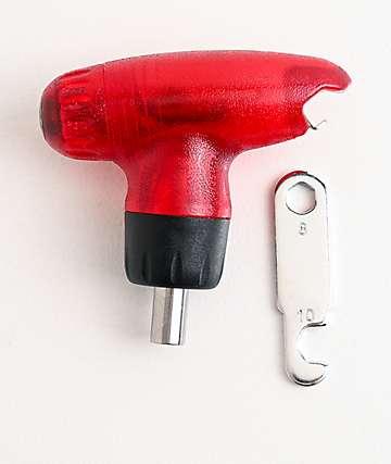 Alibi Red & Black Snowboard Multi Tool