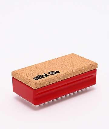 Alibi Red Nylon Waxing Brush