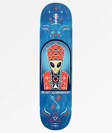"Alien Workshop Priest 8.25"" Skateboard Deck"