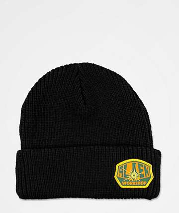 Alien Workshop Script Logo Black Beanie