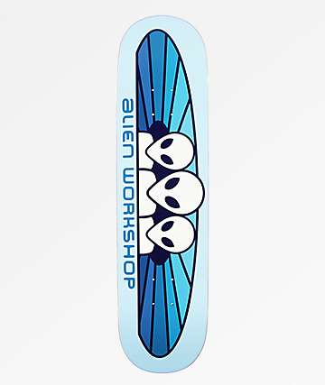 "Alien Workshop Spectrum Pastel 8.0"" Skateboard Deck"