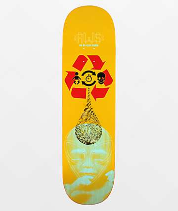 "Alien Workshop Star Reincarnate 8.5"" Skateboard Deck"