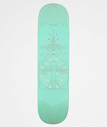 "Alien Workshop Yaje Icarus 8.12"" Skateboard Deck"