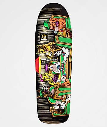 "Almost Mullen Dog Poker 9.625"" Skateboard Deck"