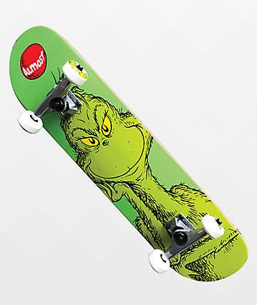 """Almost x Grinch 7.25"""" Skateboard Complete"""