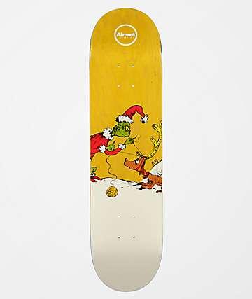 """Almost x Grinch Max R7 8.0"""" Skateboard Deck"""
