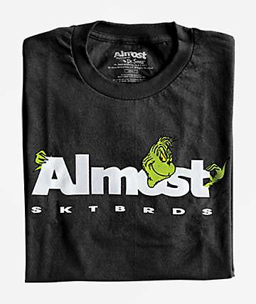 Almost x The Grinch Poke Black T-Shirt