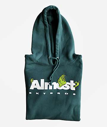 Almost x The Grinch Poke Green Hoodie