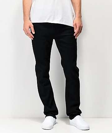 Altamont A969 jeans de mezclilla de lavado negro