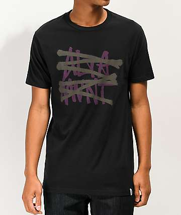 Altamont No Logo Black T-Shirt