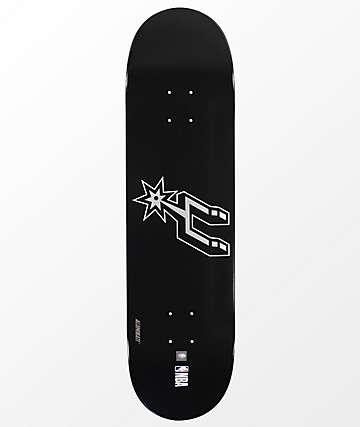 "Aluminati San Antonio Spurs 8.25"" Skateboard Deck"