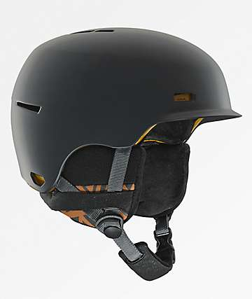 Anon Highwire Dark Grey Snowboard Helmet