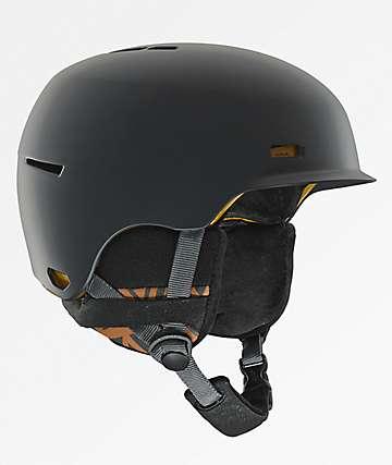 Anon Highwire casco de snowboard gris
