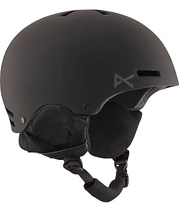 Anon Raider Black Snowboard & Skateboard Helmet