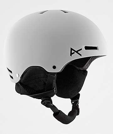 Anon Raider White Snowboard Helmet