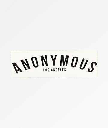 Anonymous LA Sticker