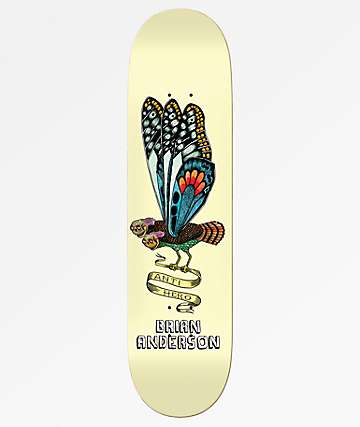 "Anti-Hero BA We Fly 8.62"" Skateboard Deck"
