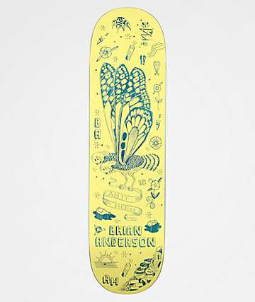 "Anti-Hero BA We Fly II 8.5"" Skateboard Deck"