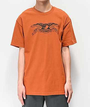 Anti-Hero Basic Eagle Rusty Orange T-Shirt