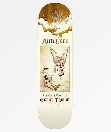 "Anti Hero Taylor Book Of Anti Hero 8.75"" Skateboard Deck"