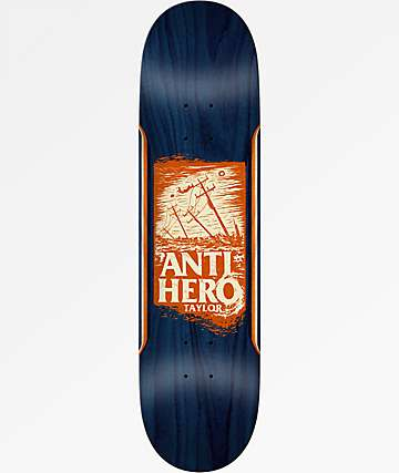 "Anti-Hero Taylor Hurricane 8.25"" Skateboard Deck"