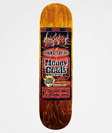 "Anti-Hero Taylor Money Coals 8.4"" Skateboard Deck"