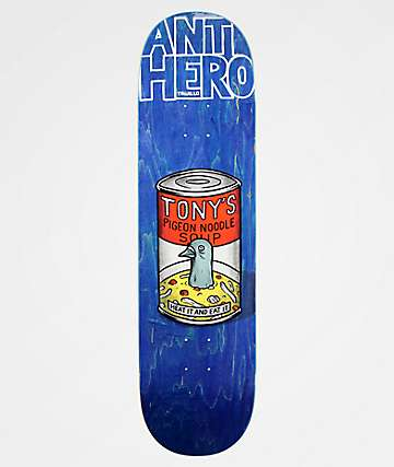 "Anti-Hero Trujillo Pigeon Fried 8.5"" Skateboard Deck"