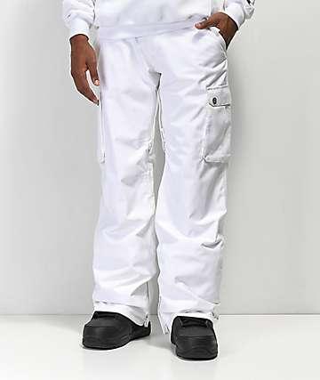 Aperture Alive 10K pantalones de snowboard en blanco