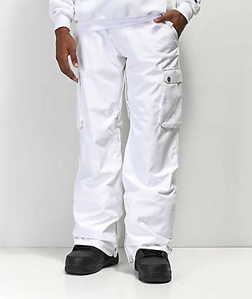 Aperture Alive White 10K Snowboard Pants