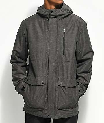 Aperture Bergman Charcoal 10K Snowboard Jacket