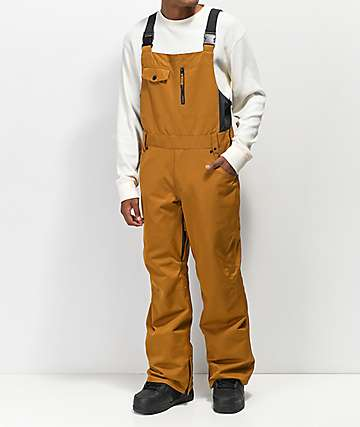 Aperture Bibber Tobacco 10K Snowboard Bib Pants
