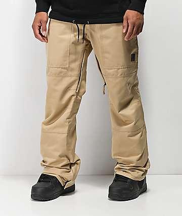Aperture Boomer 10K pantalones de snowboard caqui