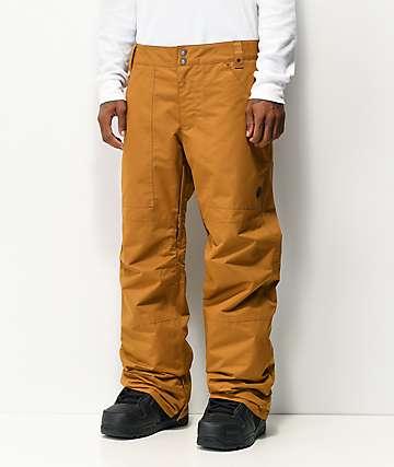 Aperture Boomer 10K pantalones de snowboard marrones