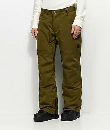 Aperture Boomer 10K pantalones de snowboard verdes