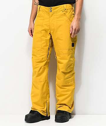 Aperture Boomer Mustard 10K Snowboard Pants