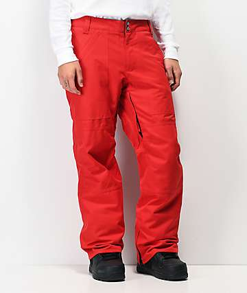 Aperture Boomer Red 10K Snowboard Pants