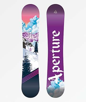 Aperture Cosmo tabla de snowboard para mujeres
