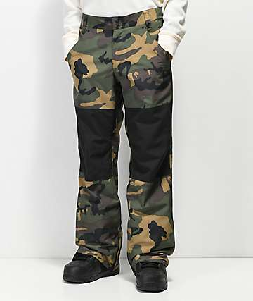 Aperture Dowdy 10K pantalones de snowboard de camuflaje