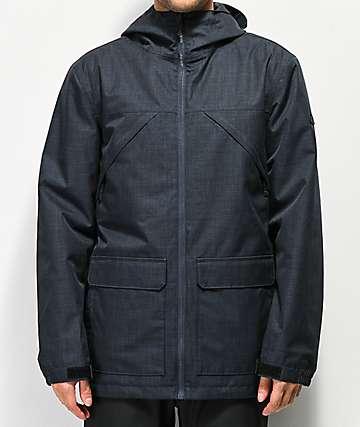 Aperture Epoch 10K chaqueta de snowboard azul marino