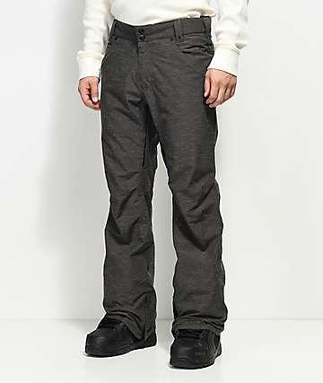 Aperture Green Line 10K pantalones de snowboard grises