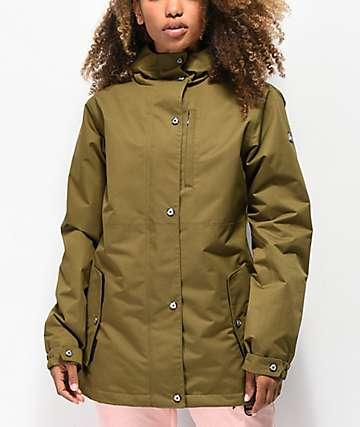 Aperture Highlands 10K chaqueta de snowboard oliva