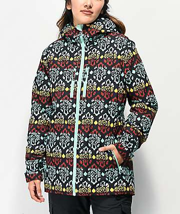 Aperture Jackson Tribal Mint 10K Snowboard Jacket